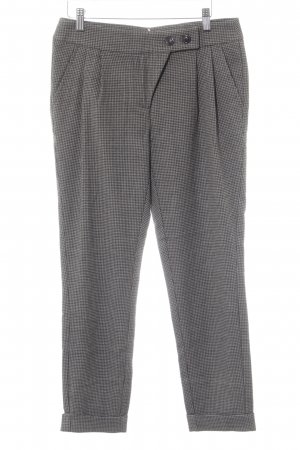 s.Oliver Bundfaltenhose Hahnentrittmuster Casual-Look