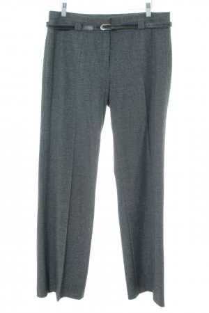 s.Oliver Pleated Trousers light grey flecked business style