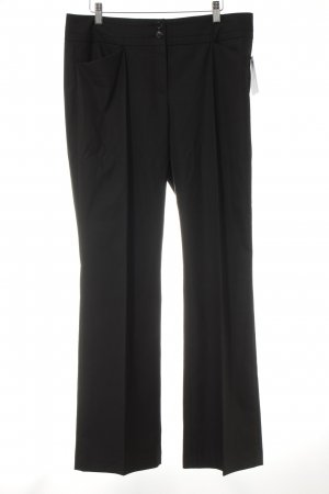 s.Oliver Bundfaltenhose schwarz Business-Look