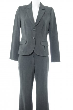 s.Oliver Business-Anzug grau meliert Business-Look