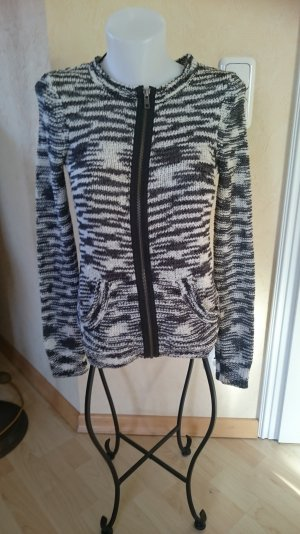 s.oliver by Qs Strickjacke Zebra optik Gr S