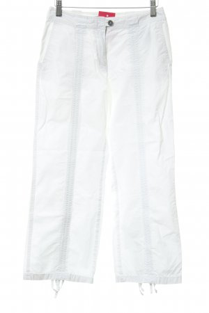 s.Oliver Capris white-silver-colored casual look