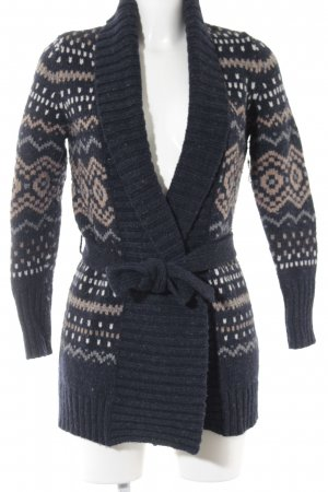 s.Oliver Cardigan abstrakter Druck Casual-Look