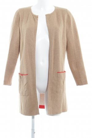 s.Oliver Cardigan beige-rot meliert Casual-Look