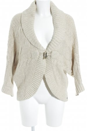 s.Oliver Cardigan creme Zopfmuster Casual-Look