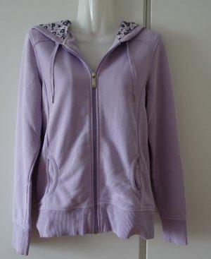 s.Oliver Cardigan Strickjacke Hoodie Sweater Gr. 38 (M) flieder lila