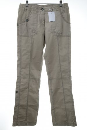s.Oliver Cargohose hellbeige Casual-Look