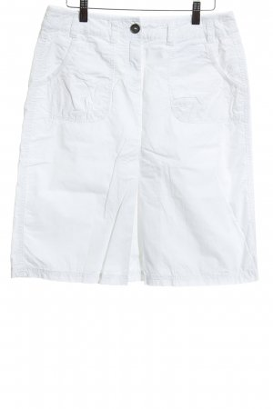 s.Oliver Cargo Skirt white simple style