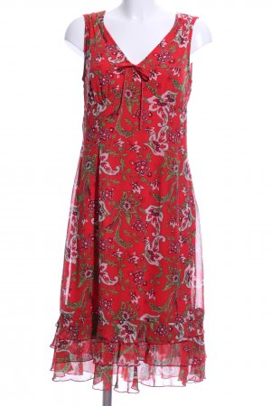 s.Oliver Chiffon Dress abstract pattern casual look