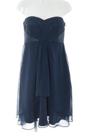 s.Oliver Vestido de chifón azul elegante