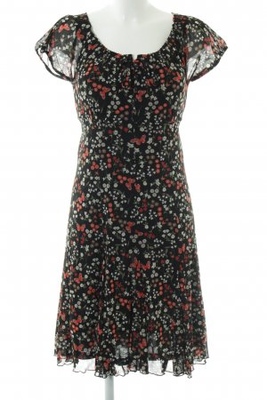 s.Oliver Chiffonkleid Blumenmuster Casual-Look
