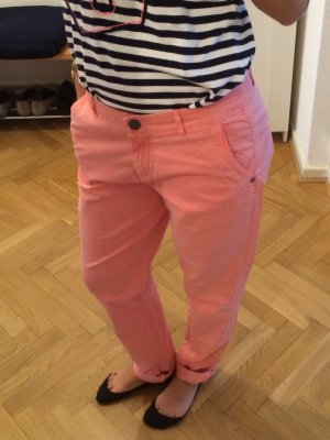 s.Oliver Chino Hose hell-lachs Größe 36