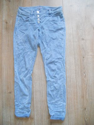 S. Oliver Chino in blau meliert G.r 36/38