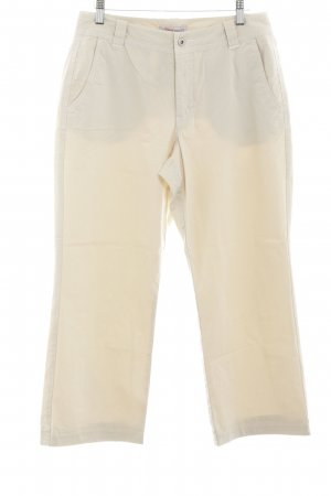 s.Oliver Chinos natural white-cream casual look