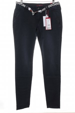 s.Oliver Chinohose dunkelblau Casual-Look