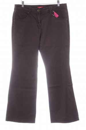 s.Oliver Chinohose dunkelbraun Casual-Look