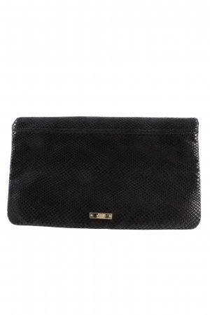 s.Oliver Clutch schwarz Animalmuster Party-Look