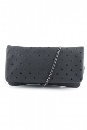 s.Oliver Clutch schwarz-grau Sternenmuster Party-Look