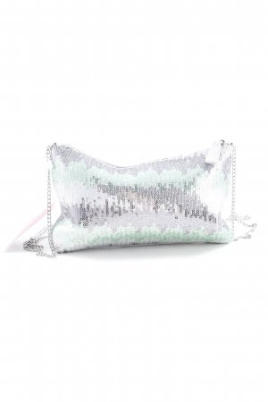 s.Oliver Clutch Streifenmuster Glanz-Optik