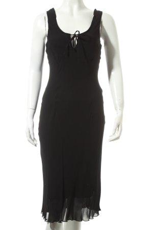 s.Oliver Cocktailkleid schwarz minimalistischer Stil