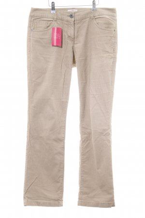 s.Oliver Cordhose creme Casual-Look