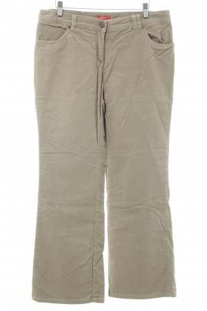 s.Oliver Pantalone di velluto a coste beige look vintage