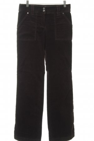 s.Oliver Corduroy Trousers dark brown casual look