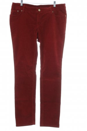 s.Oliver Cordhose rostrot-karminrot Casual-Look