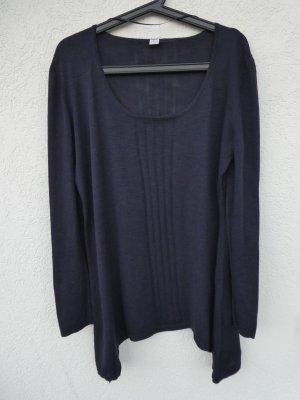 s.Oliver – Damen Feinstrick-Pulli, dunkelblau - Gebraucht, fast wie neu