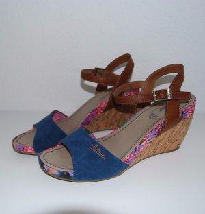 S'Oliver Damen Sandalette, Sandale, Mehrfarbig, Größe: 40