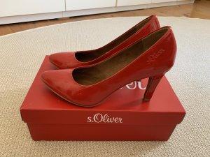 s.Oliver Damen Schuhe Rot Gr. 39 TOP !!