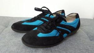 online retailer db1f1 af099 S. Oliver Damen Sneaker Turnschuhe Velour schwarz blau Größe 37