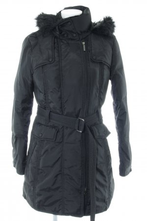 s.Oliver Down Coat black casual look
