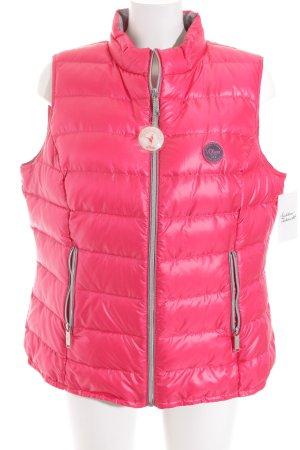 s.Oliver Daunenweste pink-grau sportlicher Stil