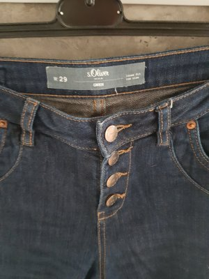 s.Oliver 3/4-jeans donkerblauw