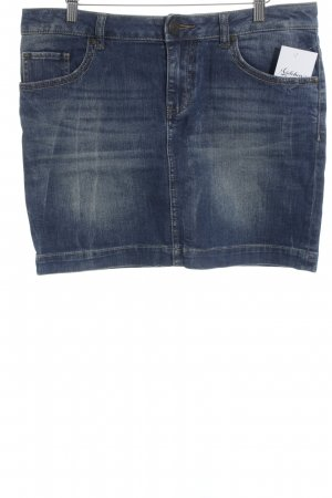 s.Oliver Denim Jeansrock stahlblau-blau Street-Fashion-Look