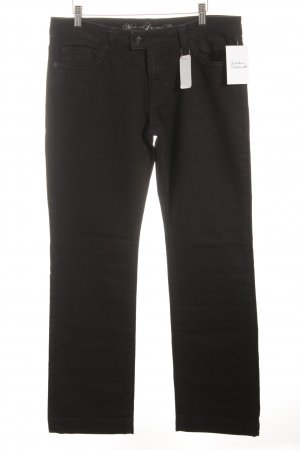 s.Oliver Denim Straight-Leg Jeans schwarz Casual-Look