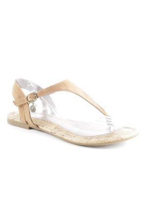 s.Oliver Dianette sandalen lichtbruin Beach-look