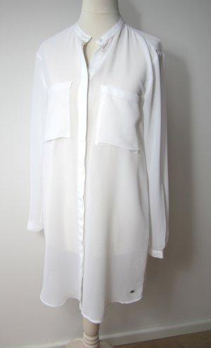 S.Oliver Edle Bluse Kleid Tunika transparent 34/36