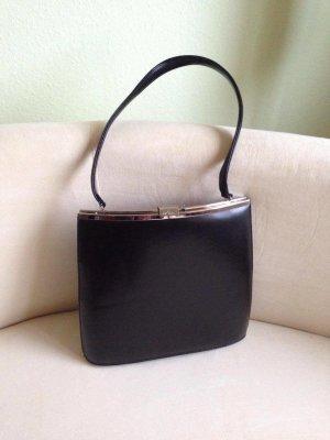 Gekruiste tas zwart-zilver