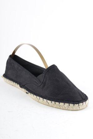 s.Oliver Espadrille sandalen zwart Beach-look