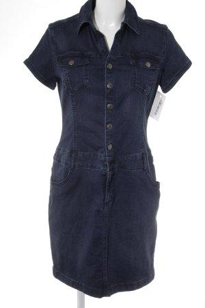 s.Oliver Etuikleid dunkelblau Jeans-Optik