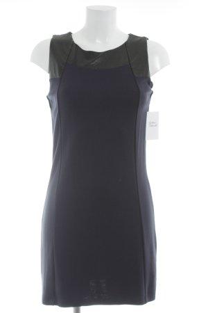 s.Oliver Etuikleid schwarz-dunkelblau klassischer Stil