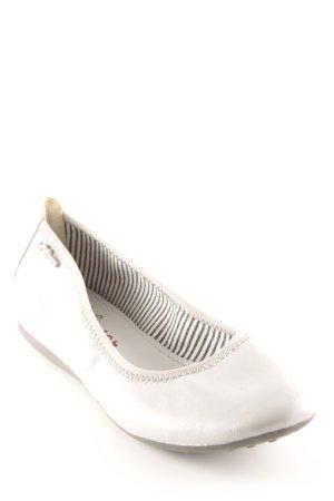 s.Oliver Bailarinas plegables gris claro look casual