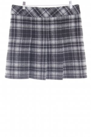 s.Oliver Plaid Skirt grey-black check pattern casual look