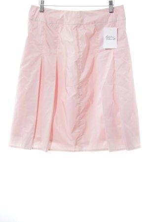 s.Oliver Faltenrock rosé Street-Fashion-Look