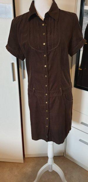 s.Oliver Abito blusa camicia marrone scuro