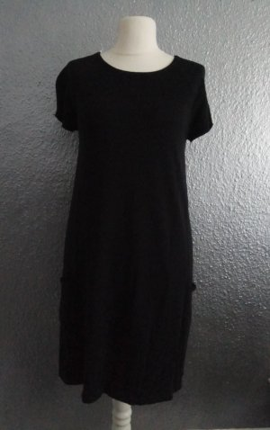 s.Oliver Knitted Dress black cotton