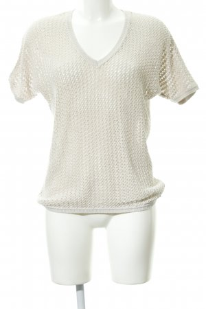 s.Oliver Feinstrickpullunder creme Casual-Look