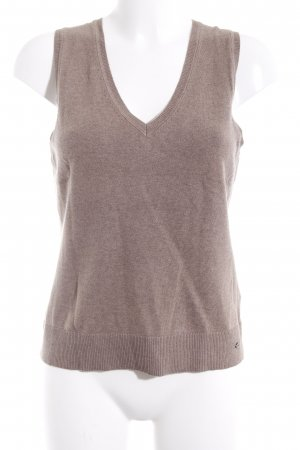 s.Oliver Fine Knitted Cardigan grey brown simple style